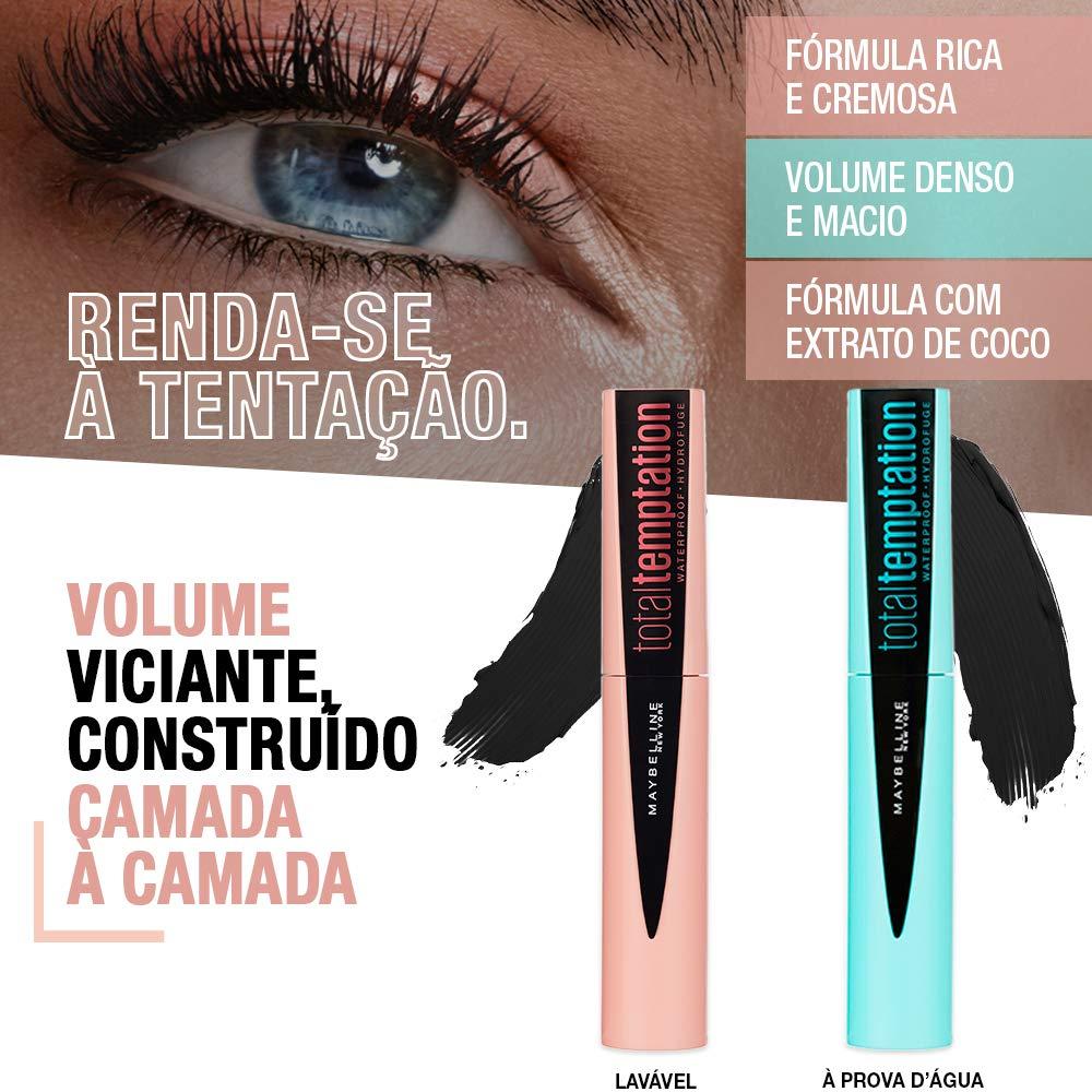 941f73a9412 Amazon.com : Maybelline New York Makeup Total Temptation Waterproof Mascara,  Waterproof Mascara, Very Black, 0.3 fl oz : Beauty