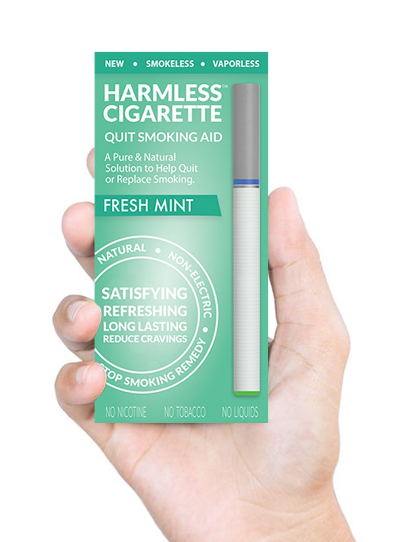 Quit Smoking Aid/Stop Smoking Remedy To Help Reduce Cravings/Natural, Satisfying & Effective Solution (2 Pack, Harmless Cigarette/Variety Set)