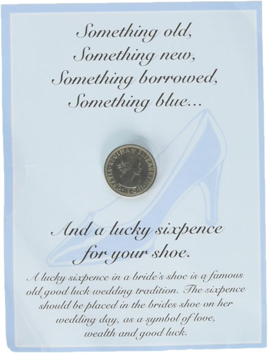 """Wedding Sixpence /""""Something Old something New/"""" England UK"""