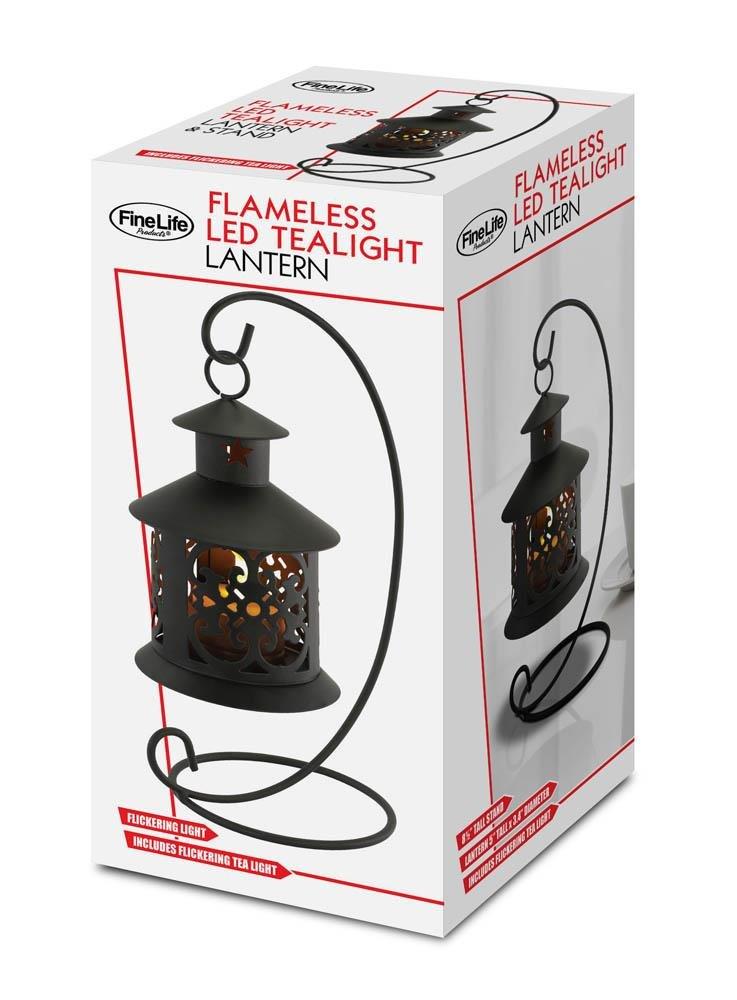 Sunshine Megastore Flameless LED Tealight Hanging Lantern