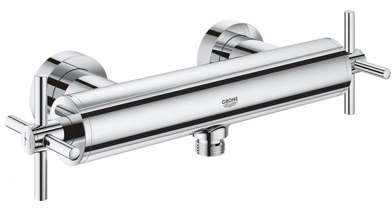 cromo Bater/ía de ducha 1//2 y sistemas de ducha monomando DN 15 Grohe 26003003 Atrio