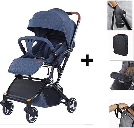 Bebé silla de paseo 4 ruedas plegable PushchairNewborn niños ...