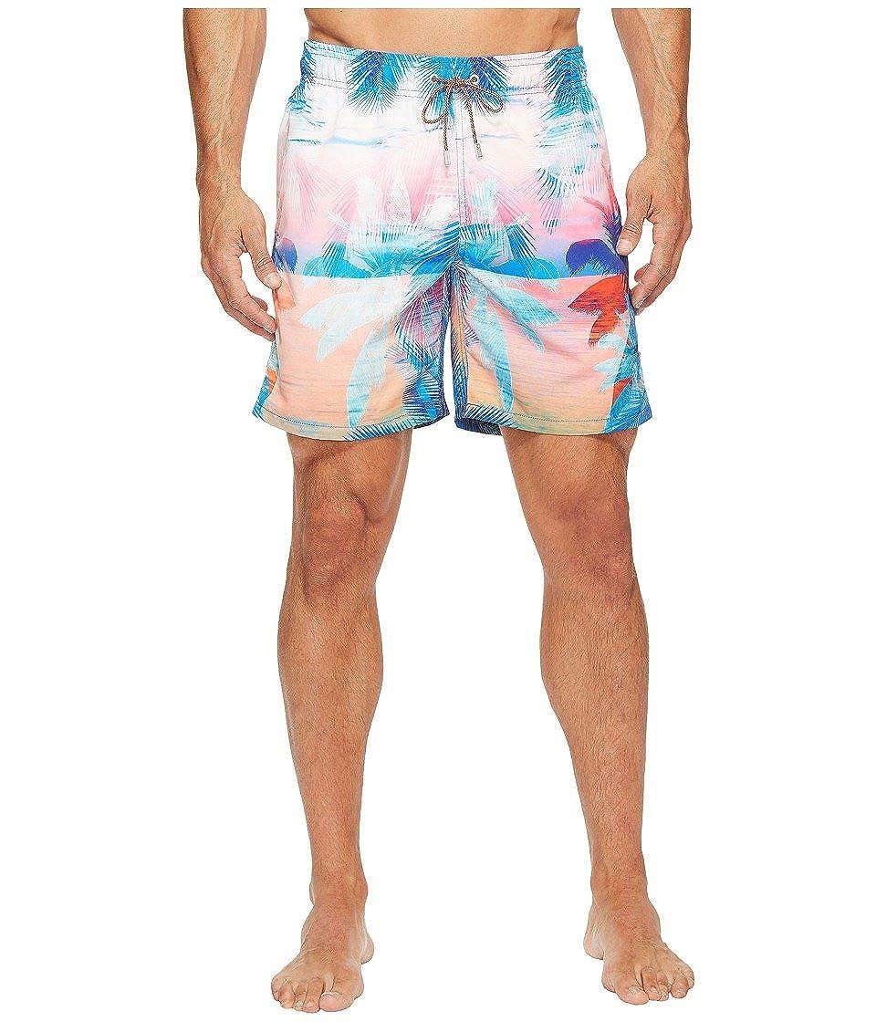8f2fdf7374 BUGATCHI Men's Paradise Palm Swim Trunks Paradise Swimsuit Bottoms at  Amazon Men's Clothing store: