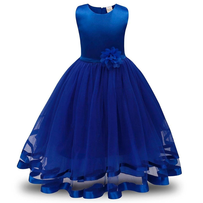 Vestidos para niñas, Dragon868 Flor Girls princesa boda fiesta dama ...