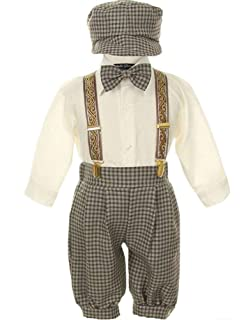 iGirldress Vintage Dress Suit-Tuxedo Knickers Outfit Set Baby Boys   Toddler 311d466c921f