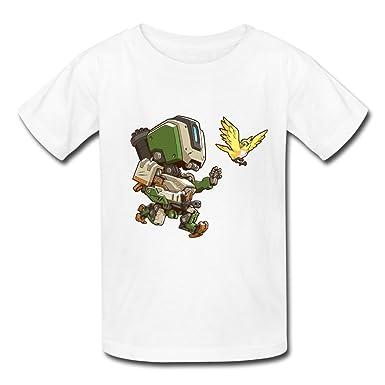 Stacey Amy Cute Overwatch Kids Tshirt XXXX-L: Amazon.es ...