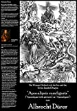 "Albrecht Durer - The Woman Clothed with the Sun and the Seven-headed Dragon (Fine Art Print on 11.7"" x 16.5'' Sheet)"