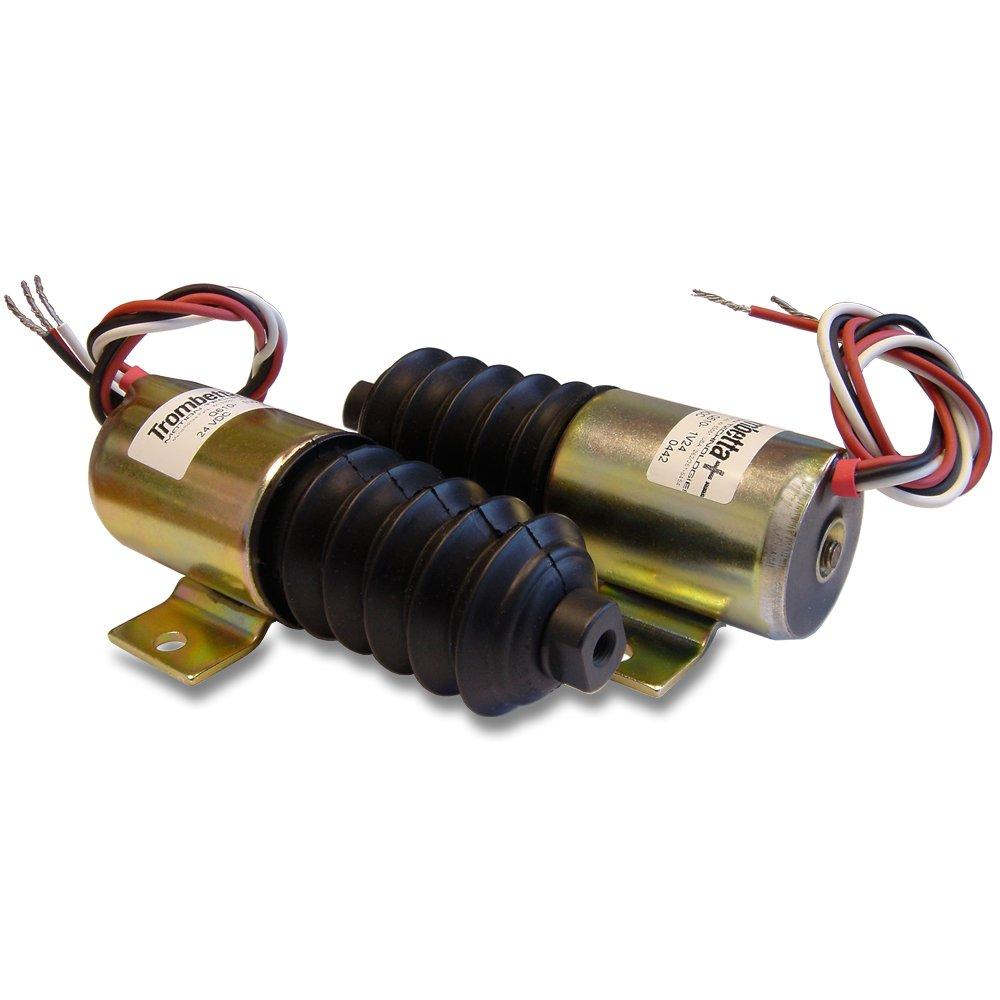 Trombetta 24 Volt Push Solenoid Part No. Q610-A1V24