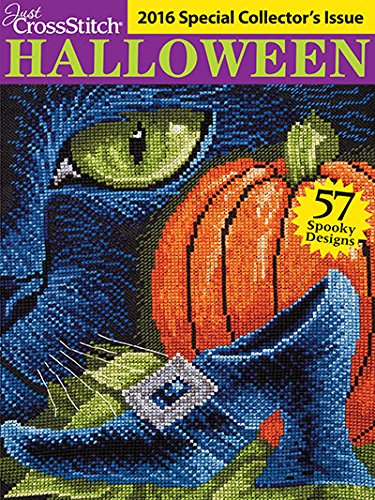 Just Cross Stitch 2016 Special Collector's Issue HALLOWEEN -