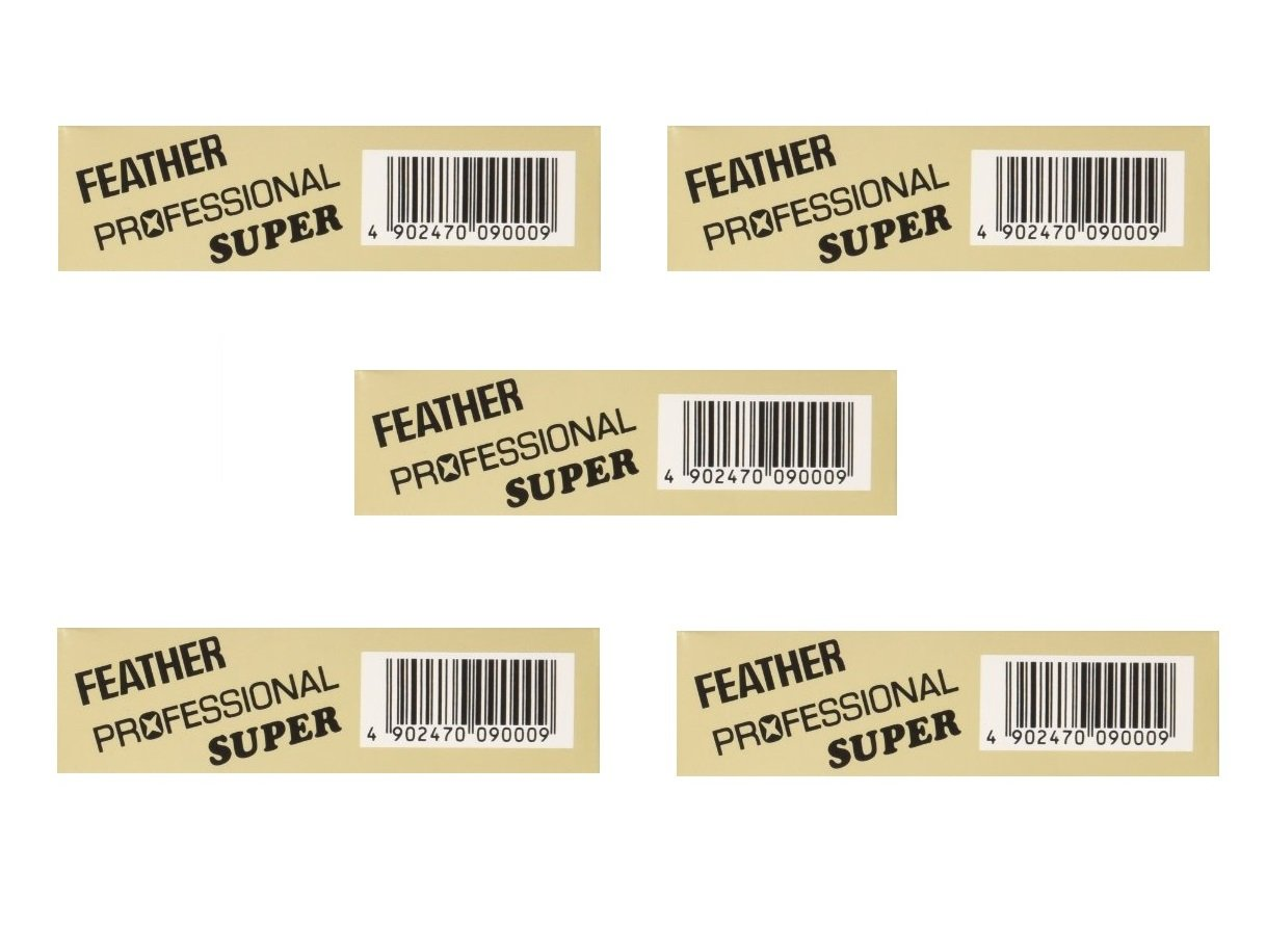 (5-packs) Feather Artist Club Super Blades by Feather