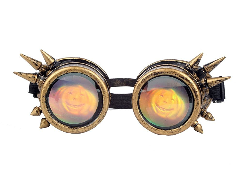 Have Fun Vintage Steampunk Goggles Cosplay Glasses For Festivals