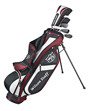 Wilson Staff, Medio set Junior, 5 palos de golf con bolsa de ...