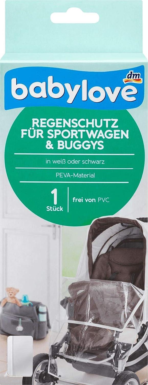 babylove Regenschutz f/ür Sportwagen und Buggys 1 St
