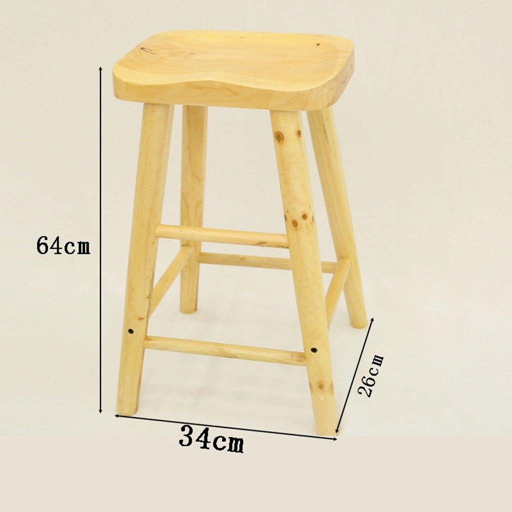 ZCJB Tabouret d'échelle Tabouret En Bois Massif Tabouret D'échelle Pour Enfants Escabeau ( Couleur : Wood )