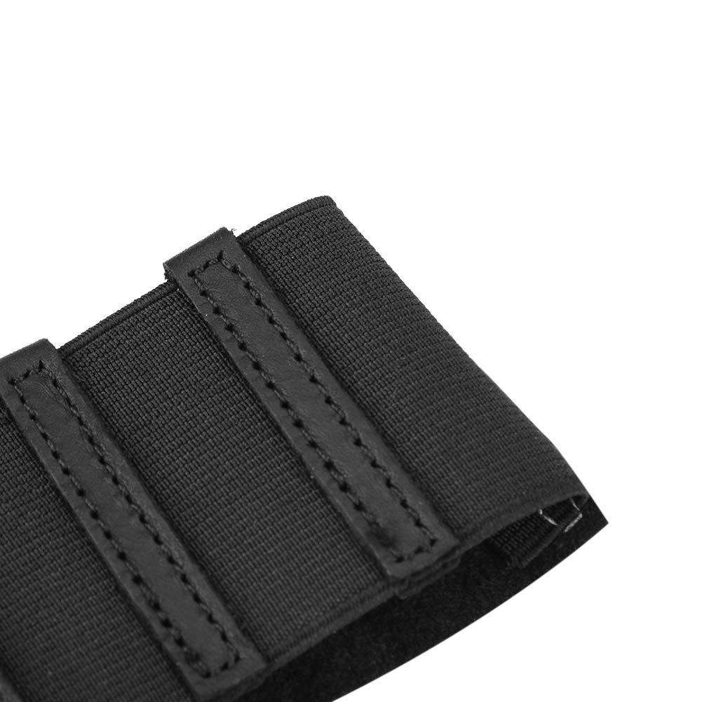 Stivali del Cambio in Gomma del Motociclo Copriscarpe Shift Guard Protezione per Scarpe da Moto Black