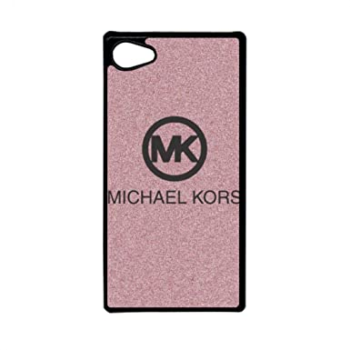 sony xperia logo. generic mk logo sony xperia z5 mini case,michael kors phone case cover for