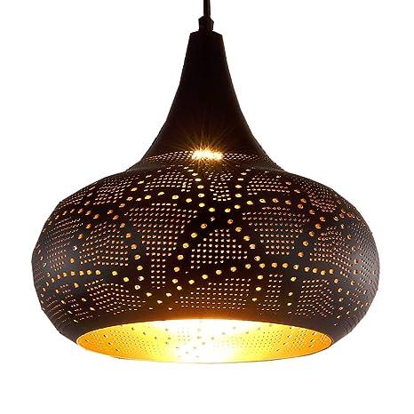 Araña marroquí de estilo oriental lámpara de linterna ...