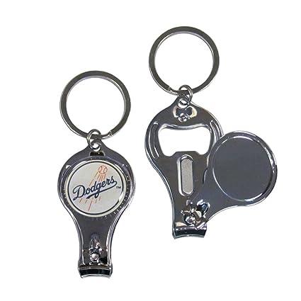 Amazon.com: MLB Los Angeles Dodgers cuidado de uñas/abridor ...