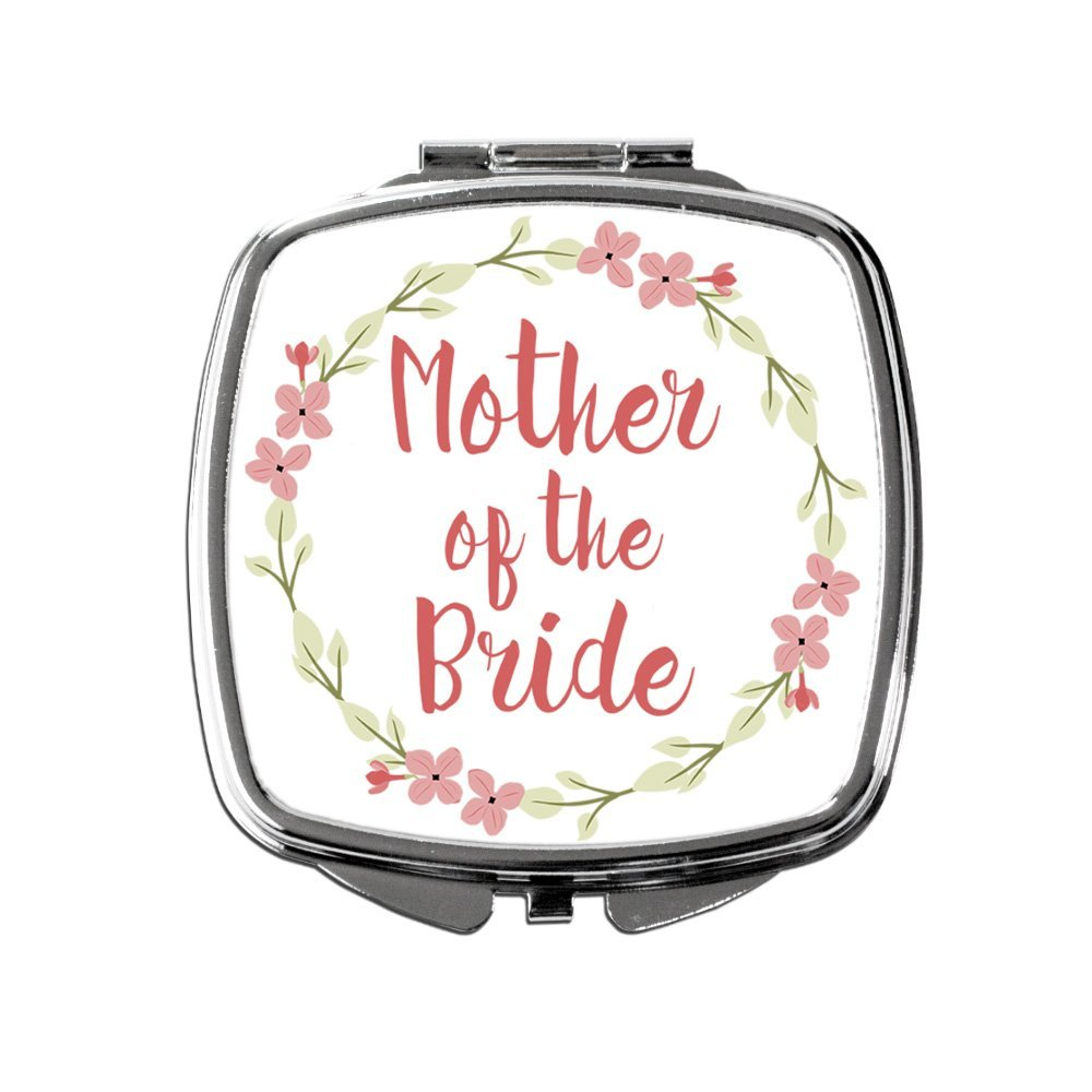 Mother of the Bride Pocket Mirror