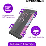 Pure Clear Full Cover Tempered Glass for SONY XPERIA XA [Original NETBOON Glass]