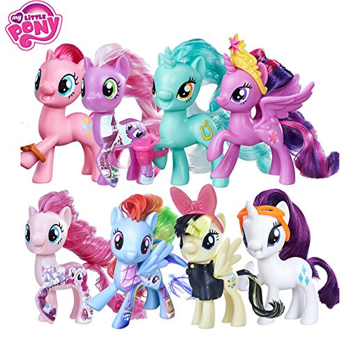 Game, Fun, My Little Pony One Piece Figure Toys Friendship is Magic Rainbow Dash Pinkie Model For Children Baby Birthday Gift Girl Bonecas, Toy, Play