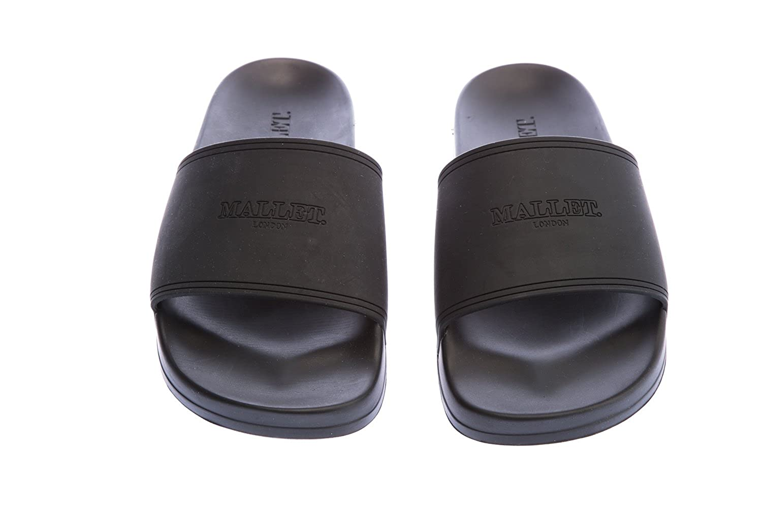0880b5e95f9305 Mallet Slides in Black 10 UK  Amazon.co.uk  Clothing