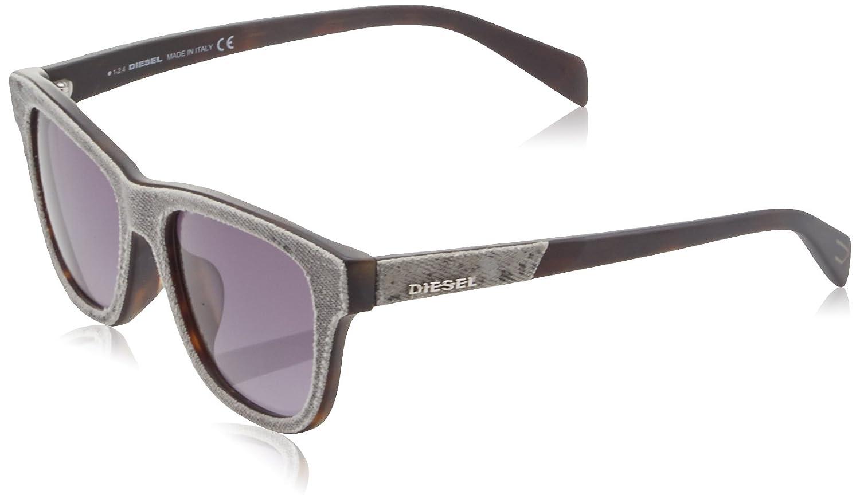 941c8399f9 Diesel Women s Wayfarer Eye Sunglasses Grey (Grigio) 54  Amazon.co.uk   Clothing