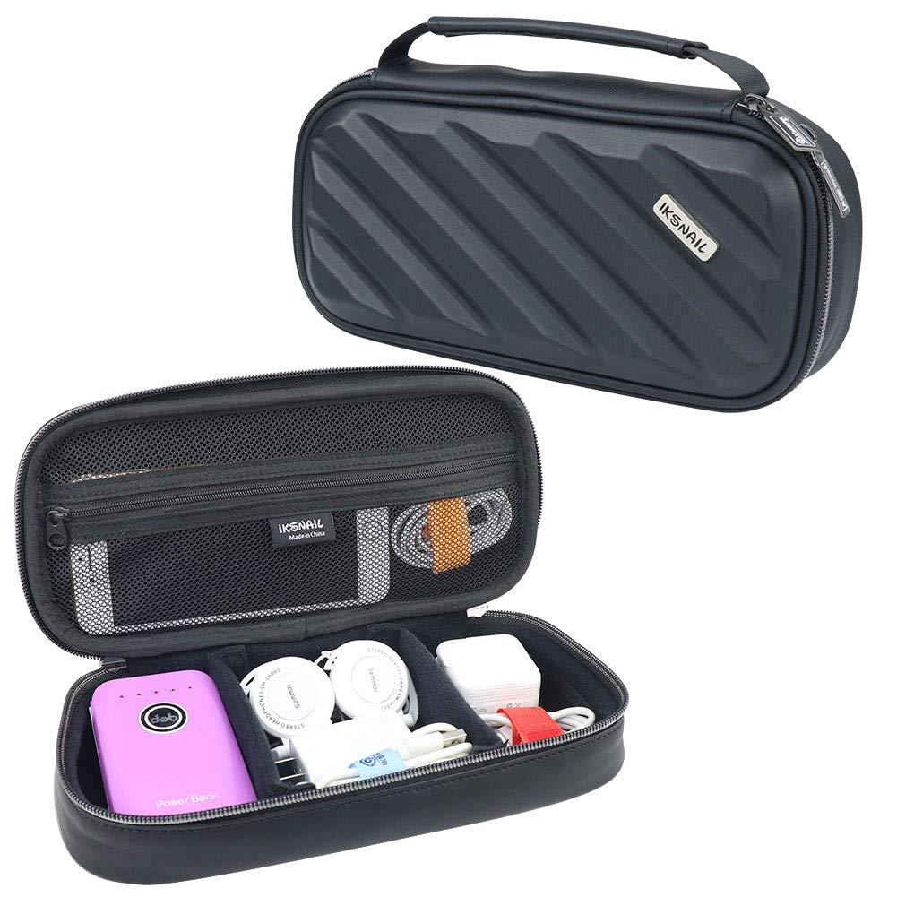 ea95f121ebc8 Amazon.com  Iksnail Electronics Organizer Travel Bag