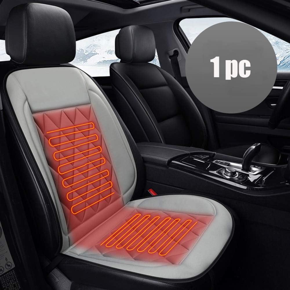 Wohnmobil PKW Sitzheizung Auto Sitzkissen Beheizbar Sitzauflage Auto Sitzheizung Heizkissen Heizauflage f/ür die 12V Auto Sitzkissen Beheizbar f/ür Auto LKW