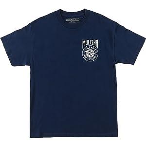 Metal Mulisha Mens Step Short-Sleeve Shirt X-Large Harbor Blue