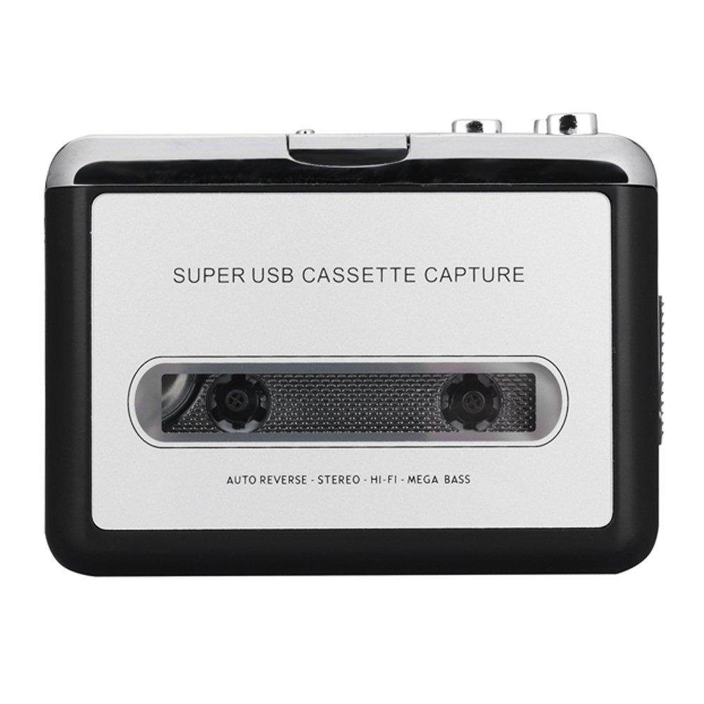 SUNYOY lecteur de cassettes cassettes au format MP3Converter rétro Walkman Auto Reverse Audio Portable lecteur de bande avec écouteurs