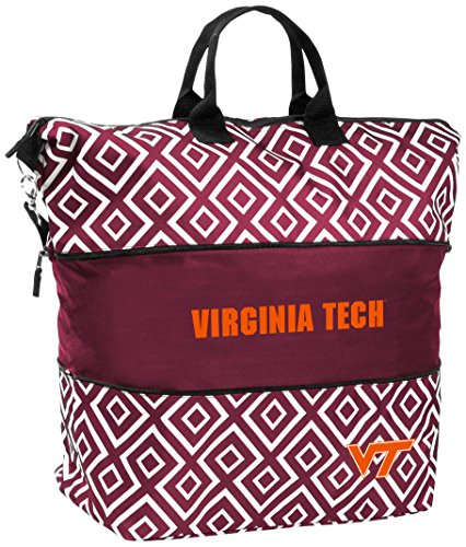 NCAA VA Tech Women's DD Expandable Tote Bag by Logo