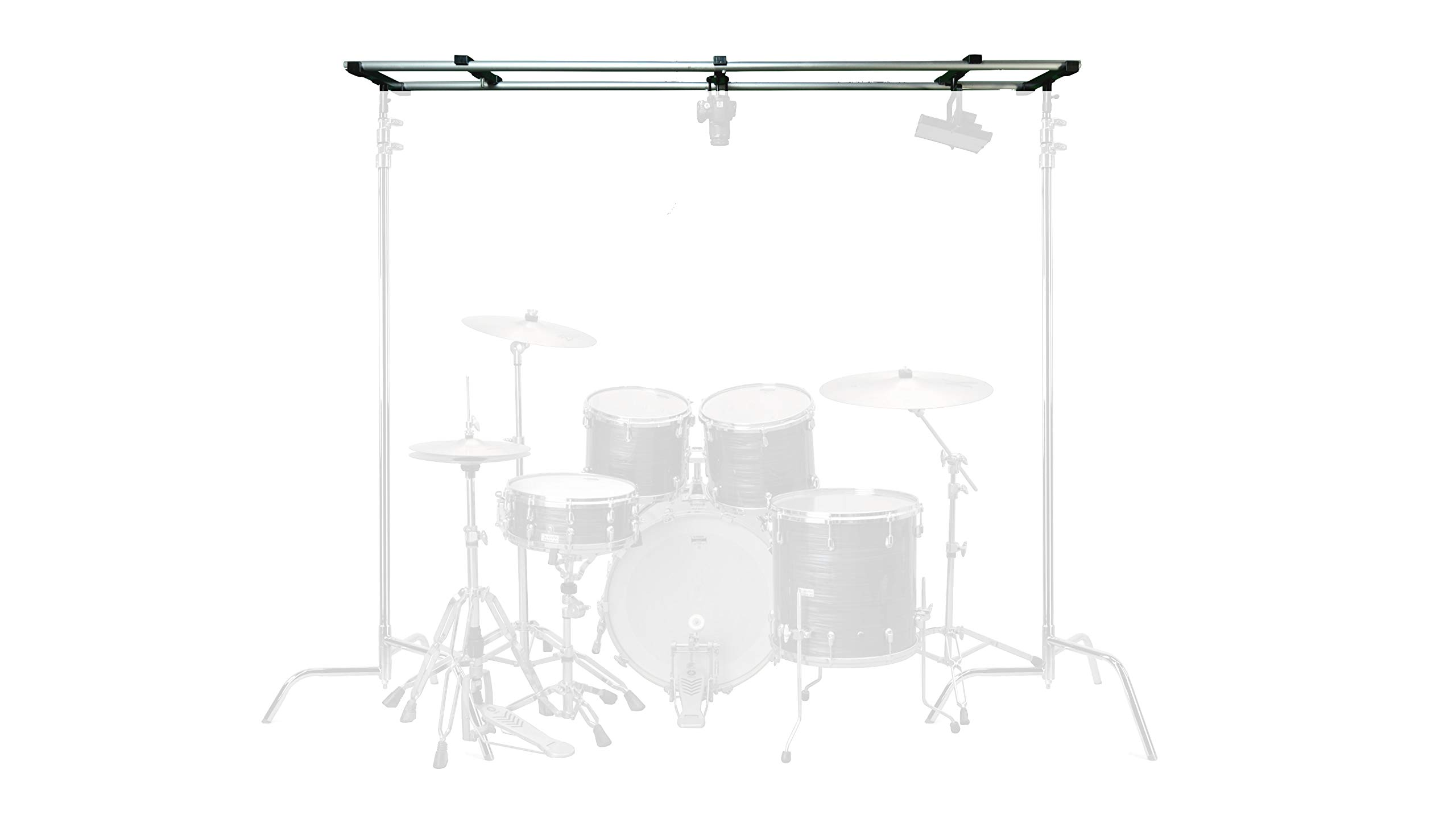 Glide Gear OH 150 Overhead Camera Light Platform Rig Stand 4-12ft Wide Modular System by Glide Gear