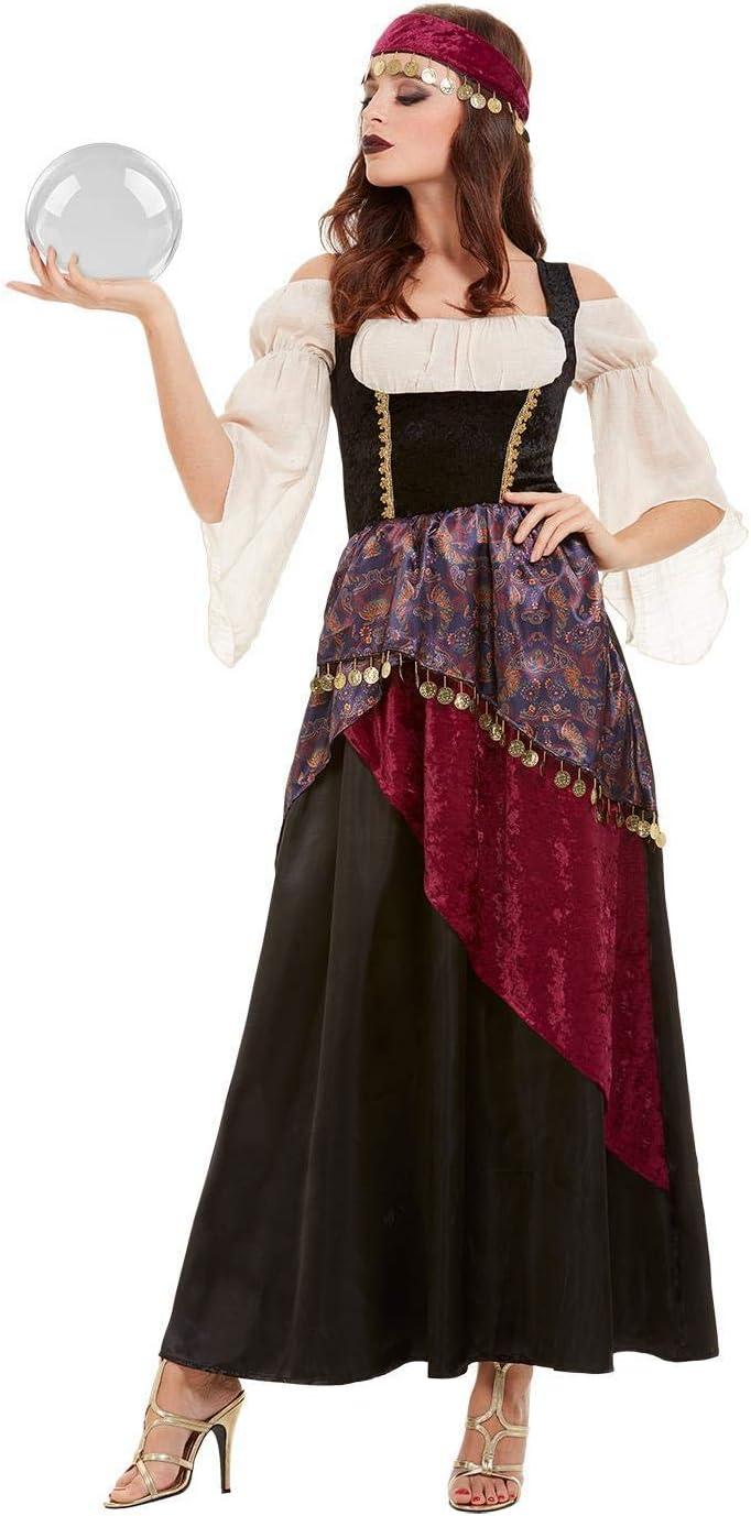 Smiffys 50953M - Disfraz de Fortune Teller para mujer, talla M ...