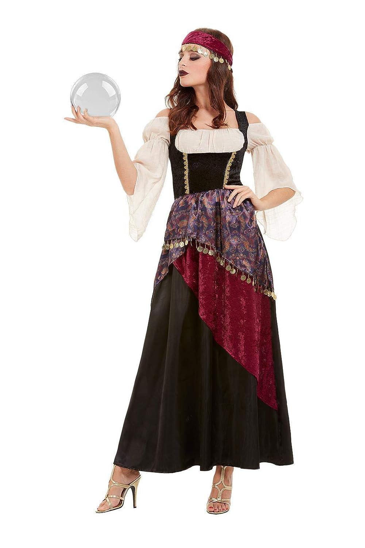 Smiffys 50953L - Disfraz de Fortune Teller para mujer, talla L ...