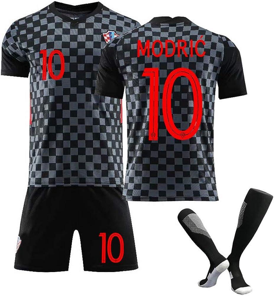 M/ännerfussball Trikot-Kroatien Nationalmannschaft Fu/ßballtrikot f/ür Modric10# Mandzukic 17# 2021 Neuer Fan Trikot Fu/ßball Sportbekleidung Erwachsener//Kind Kits F/ür-Fu/ßballfans Trikot