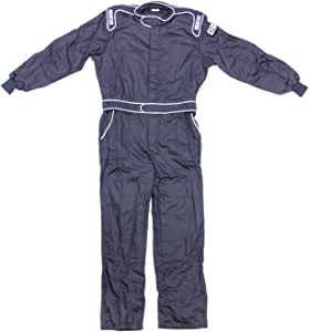 Sparco 001052NR4XL One Black X-Large Fireproof Fabric Driving Suit