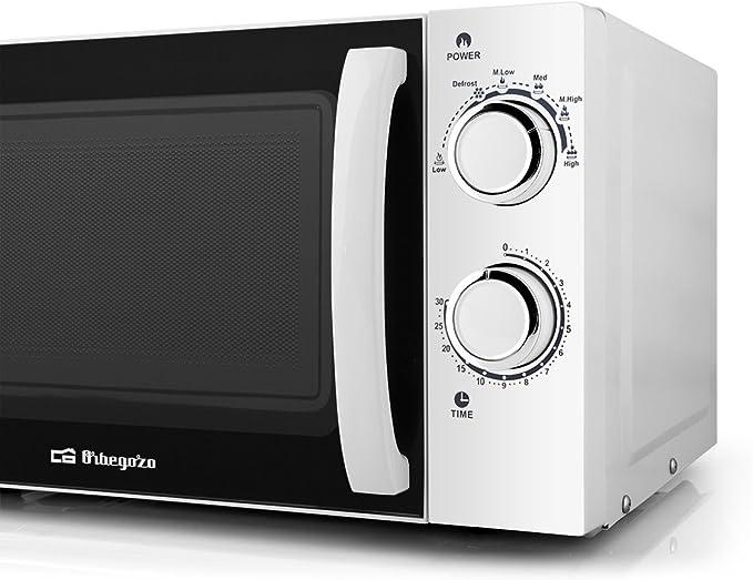 Orbegozo MI 2015 - Microondas sin grill, 700 W de potencia, 20 L ...
