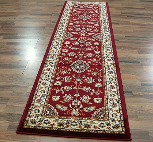 eRugs Rug Classic Floral Oriental Red, 60 x 230 cm e-Rugs