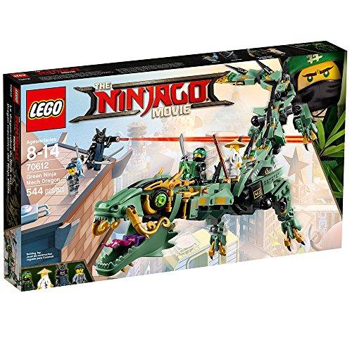 61%2BZQ%2B55CxL - LEGO Ninjago Movie Green Ninja Mech Dragon 70612 Building Kit (544 Piece)