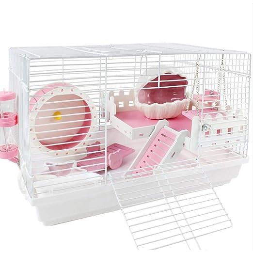Life HS Hamster Jaula Doble Transparente Contenido Creativo DIY ...