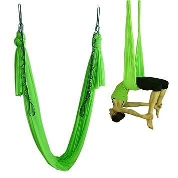 wellsem elástico Yoga Swing Aerial Yoga hamaca entrenamiento ...