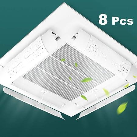 Parabrisas de aire acondicionado / deflector retráctil, deflector de aire acondicionado, deflector de aire acondicionado central de techo, protector de aire acondicionado parabrisas ajustable: Amazon.es: Hogar