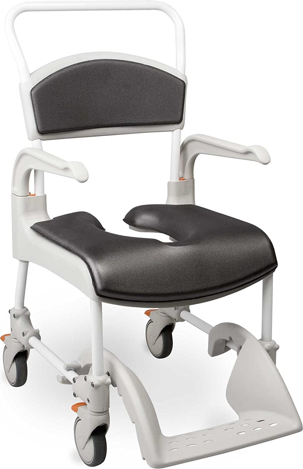 5bf787a9a55 Amazon.com  Etac Clean Shower Commode Chair with Comfort Pads