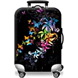 "Valorite Protective Luggage Cover Stretchy Spandex Suitcase Cover Fits 18-30"" - 34 Different Designs"
