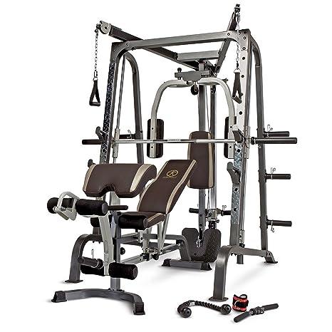 Marcy MD-9010G - Máquina de gimnasia (máquina Smith, banco de ...