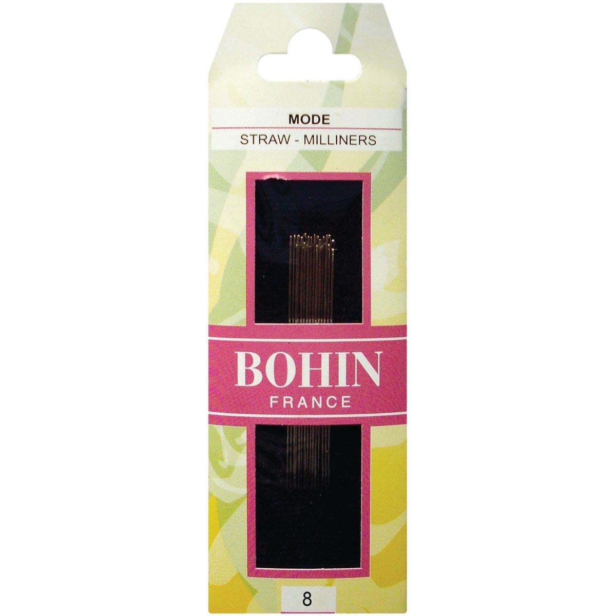 Bohin Milliners Hand Needles-Size 8 15//Pkg