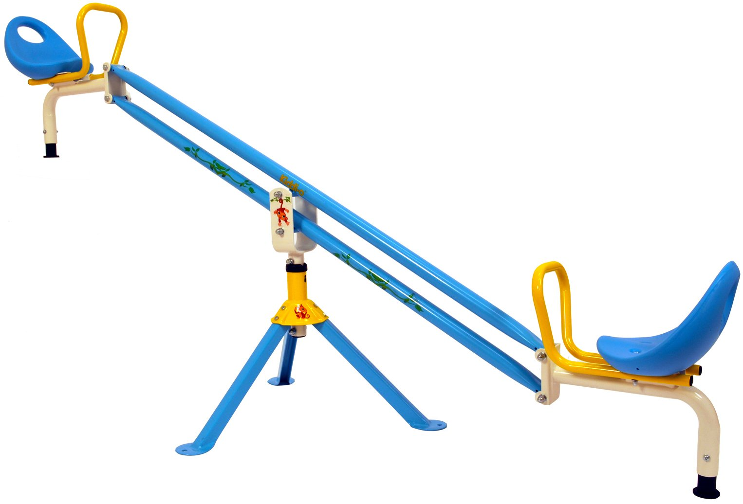 Kettler Kiddi-o by Home Playground Equipment: Outdoor Swivel Seesaw, Youth Ages 3+