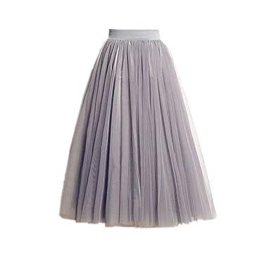 ästhetisches Aussehen Keine Verkaufssteuer Beste Ele Gens Damen Faltenrock Tüllrock Lang Röcke A-Linien Petticoat Kleider