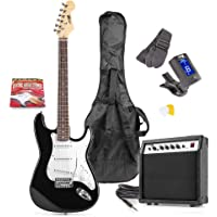 MAX GigKit Black Electric Guitar Pack